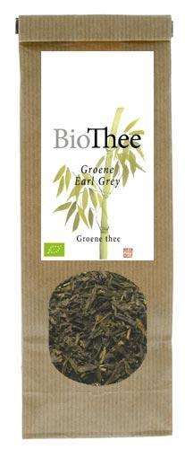 Biologische groene earl grey