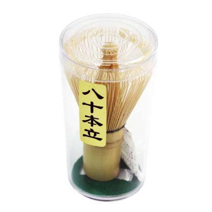 Matchaklopper (chasen) bamboe