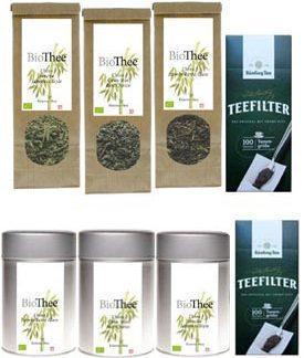 Theepakket biologische groene thee