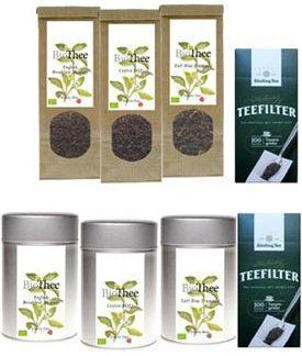 Biologisch theepakket zwarte thee