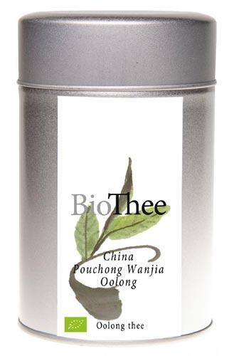Losse oolong thee bio Pouching Wanjia Oolong
