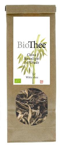 Losse witte thee bio China Moonlight 1st Grade