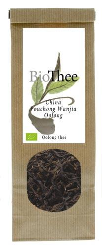 Losse oolong thee bio Pouchong Wanjia Oolong