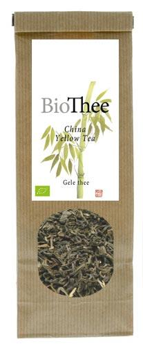 Losse gele thee bio China Yellow Tea
