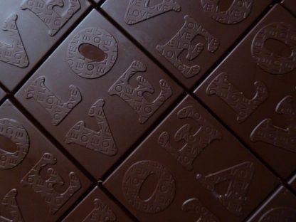 Biologische rauwe chocola
